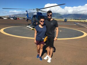 helicoptero maui molokai