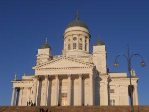 Finlandia Helsinki Catedral Blanca