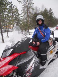 Finlandia Moto de Nieve Rovaniemi