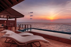 The Water Suite Pool Deck at Sunset VARU by Atmosphere