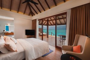 Water Villa with Pool Bedroom View VARU by Atmosphere