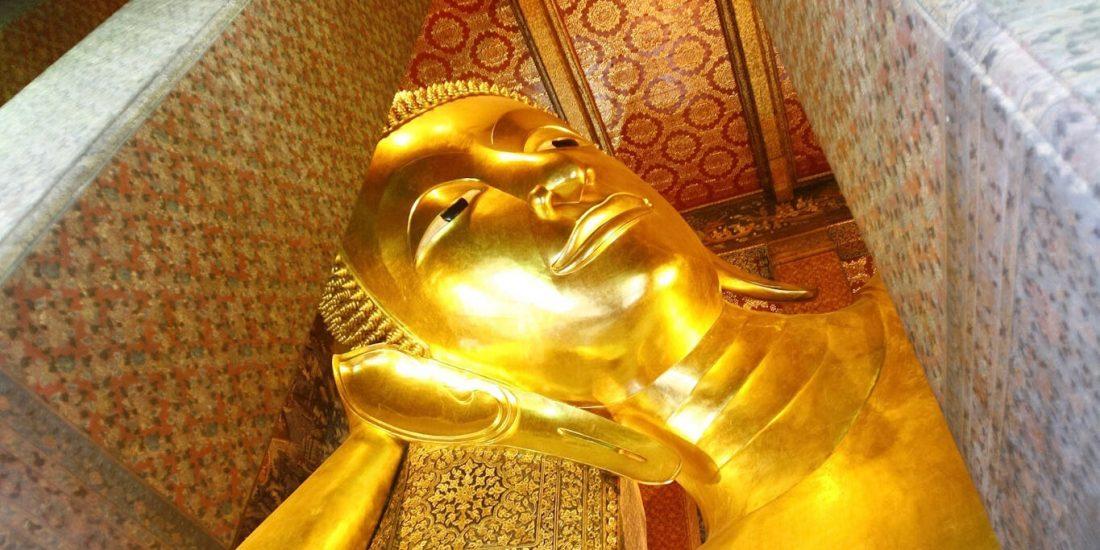 Bangkok Grand Palace reclining Buddha 1