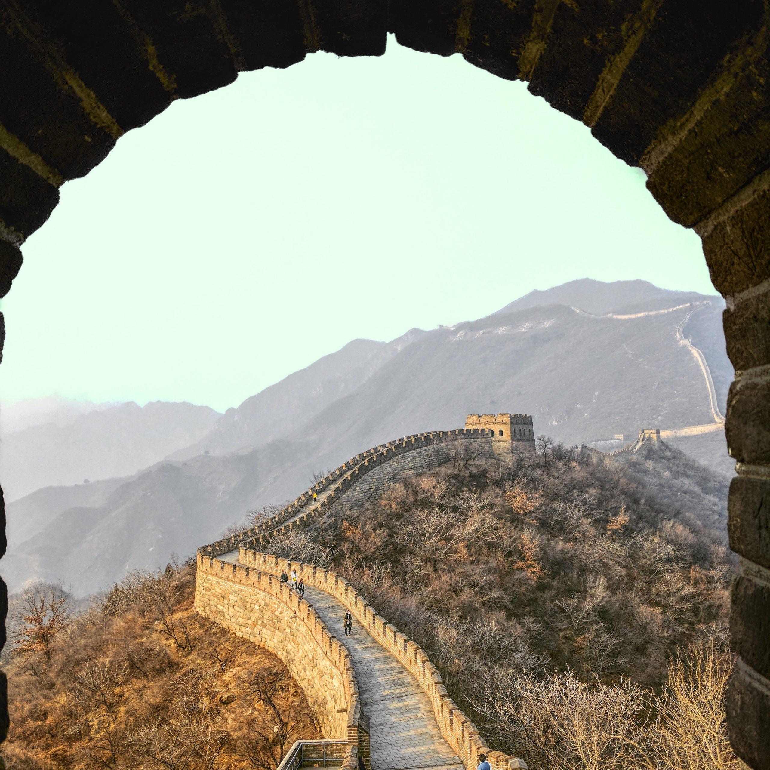 Beijing Mutianyu Great Wall scaled viajes a medida y viajes de novios