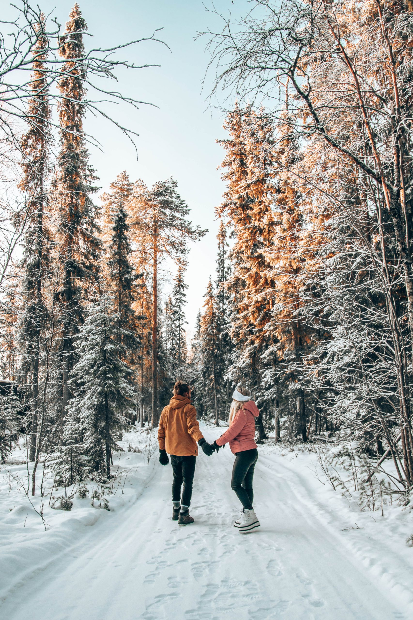 Romantic walk in Rovaniemi Lapland Finland Photo by TheTwoBohemians scaled