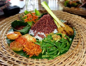 Indonesia Traditional Indonesian food