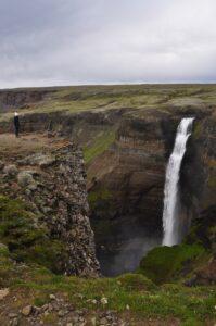 Dia 5. Cascada Hjalparfoss viajes a medida y viajes de novios