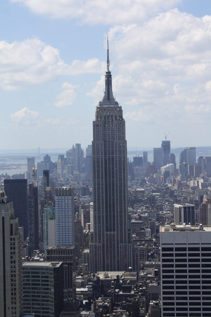 Empire State visto desde Rockefeller