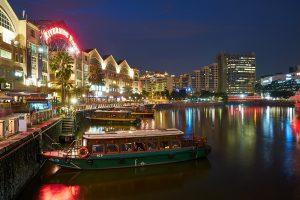 Singapore Boat Quay viajes a medida y viajes de novios